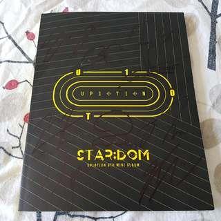 Up10tion Stardom signed album
