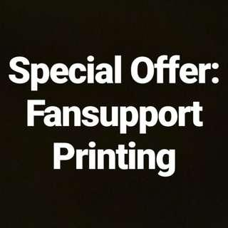 Fansupport Printing (For Hallyupopfest)