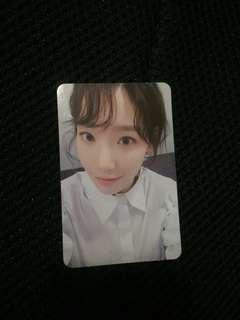 Taeyeon Official Photocard (My Voice Album)