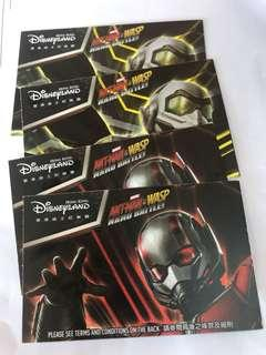 迪士尼門票 單日30/3 有4張 另有手帶放