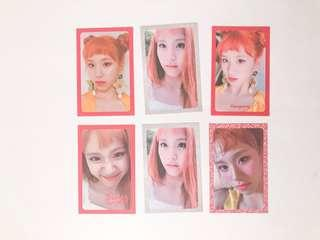 chaeyoung photocards