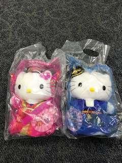 Hello kitty Korean wedding couple