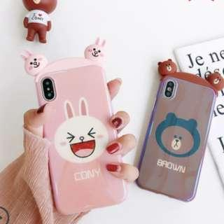 Line Brown & Cony Iphone Casing