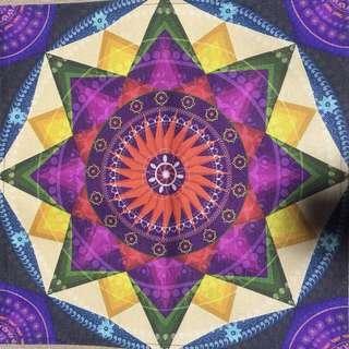🚚 【沐星藝坊】祭壇布 桌布 曼陀羅 生命之花 蓮花 脈輪 靈性擺件 魔法儀式工具