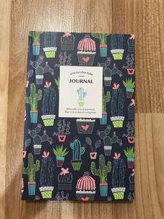 Cactus Design Travel Journal /Diary/ Notebook