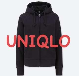 Jaket hoodie uniqlo new