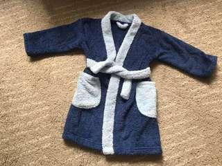 Fluffy dressing gown or post swimming gown 1.5-2.5 yrs old