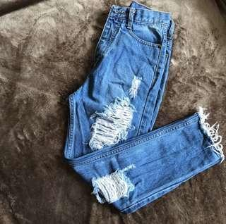 Vintage highwaist denim jeans