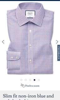 🚚 Charles Thyritt Non Iron Formal Shirt