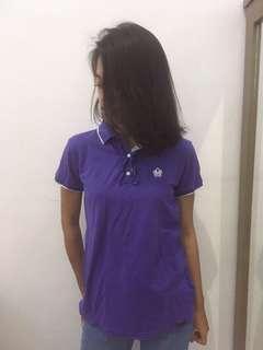 Baju lengan pendek ungu spyderbilt