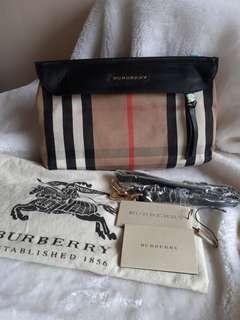 Used burberry nova check bag