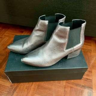 French Connection Metallic Boots