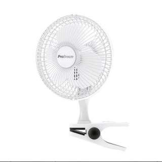 2462 6″ Mini Clip Fan For Your Desk, Table Or Bedside – Ultra Quiet & High Power
