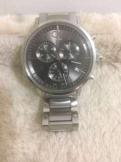 🚚 Ck三眼計時腕錶 男錶