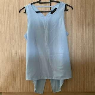 THE CLOSET LOVER blue top