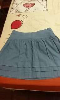 Ohayol Light Blue Skirt #SnapEndGame