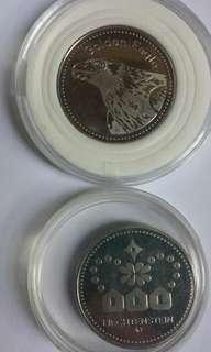 Liechtenstein 纪念幣×2