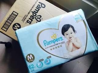 Pampers Ichiban 日版 增量裝 62片紙尿片 M碼 Diapers
