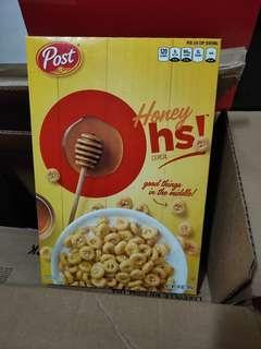 🚚 Post Honey Oh's Breakfast Cereal