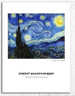 🚚 Canvas Painting Van Gogh