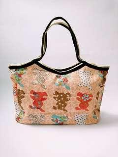 🚚 鄉村風粉嫩童趣手提包
