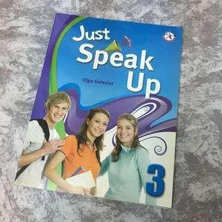 Just speak up