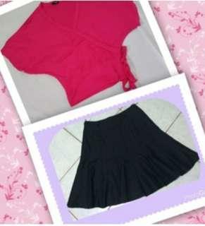 💋tops &skirt
