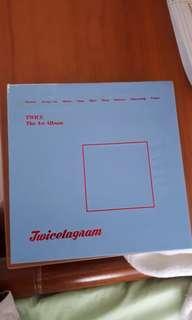 WTS unsealed TWICE TWICETAGRAM blue album