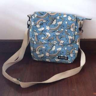 the paper stone blue sling bag