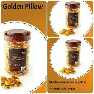 Choco Crust golden pillow