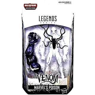 MISB Marvel Legends Poison With Monster Venom Baf Action Figure