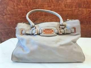 Michael Kors full leather grey bag