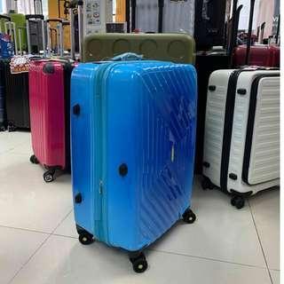 阿豪 American Tourister Air Force+漸變藍 25寸 行李箱