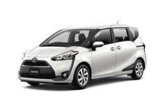 Toyota Sienta hybrid