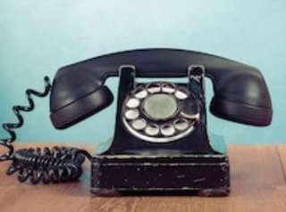 🚚 Antique telephone