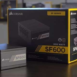 Corsair SF600 — 600 Watt 80 PLUS Gold Certified High Performance SFX PSU Local Warranty