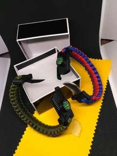 Nato band for fashion survival and hunting