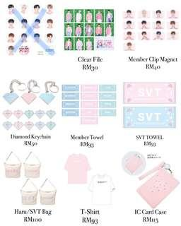 [Msia GO] SEVENTEEN Japan Haru Tour Merchandise