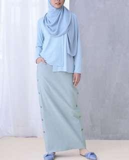 Calaqisya Aria buttoned skirt