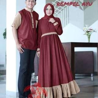 Gamis Couple Rempel