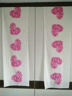 IKEA 6 heart shaped table liner