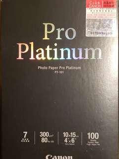 Canon PT-101 Photo Paper Pro Platinum