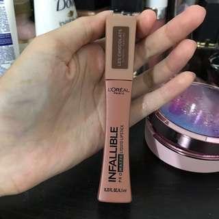 loreal infallible matte lip cream