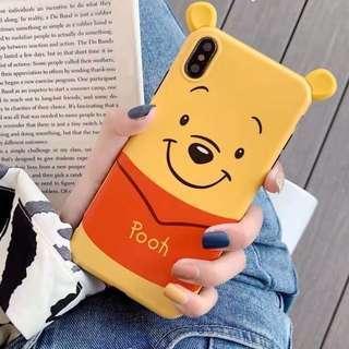 維尼 iPhone Case Winnie the Pooh 大頭 軟膠殼