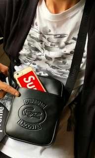 Supreme X Lacoste Sling Bag