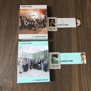 Wanna One Power of Destiny Albums