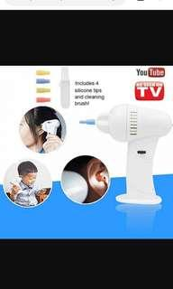 HOT WAXVAC ELECTRIC EAR VACUME CLEANER SOFT WAX REMOVER PAINLESS