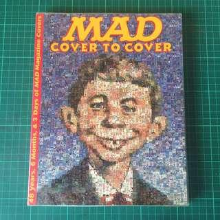 1 Item, MAD MAGAZINE Alfred E Neuman Cover to Cover: 48 Years, 6 Months, & 3 Days, New