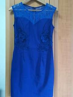🚚 Blue Dress (MEGAGAMIE)