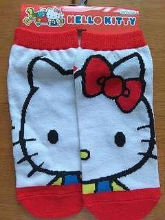 Hello Kitty 大頭 船襪 袜 日本限定